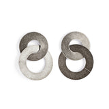 Michelle Ross- vada antique silver earrings