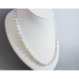 Nava Glazer - Suede & Pearls Necklace
