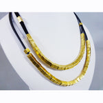 Nava Glazer - Suede Square Necklace