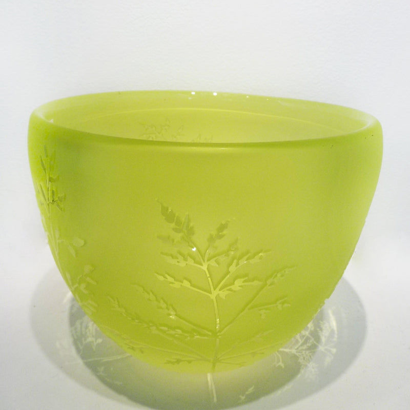 Carol Nesbitt - Green Bowl