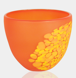 Alexi & Mariel Hunter - Lg Orange Frit Bowl