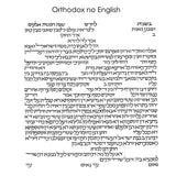 Naomi Teplow - Orthodox no English Text