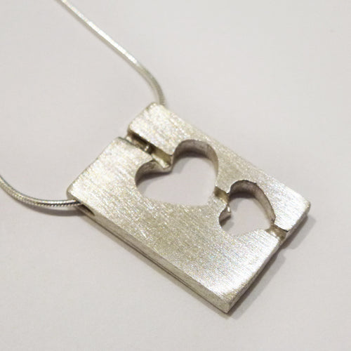 Yair Stern - Two Hearts Necklace
