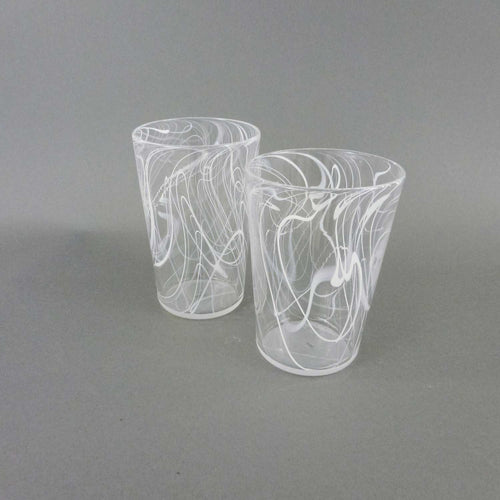 Tobias Moriarty - Water Glasses White