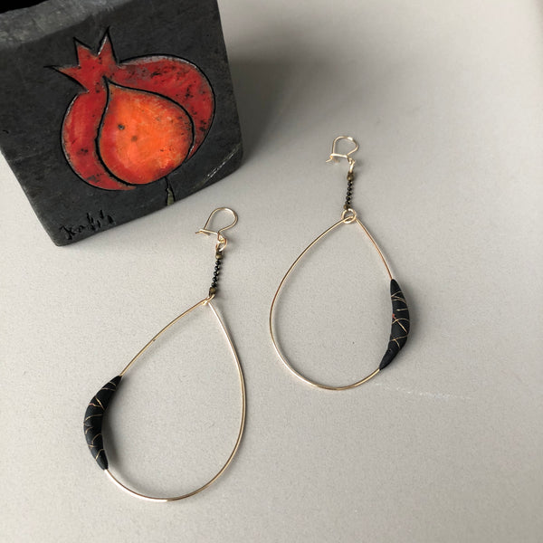 Gil Birol - Sirma Drop Earrings