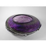 Alexi & Mariel Hunter - Purple/Grey Ripple Wave Bowl