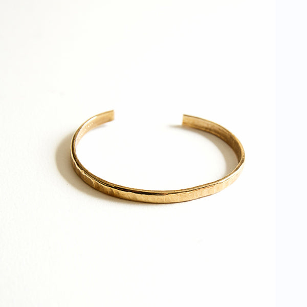 Michelle Ross - Chloe Hammered bangle bracelet