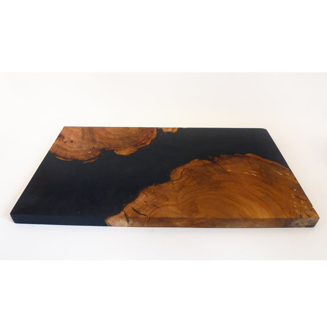 Norman & Brendan Daignault - Red Pear Volcanic Black Board