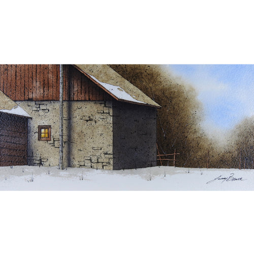 "Shed and Barn 6"" x 12"""