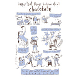 Chocolate tea towel