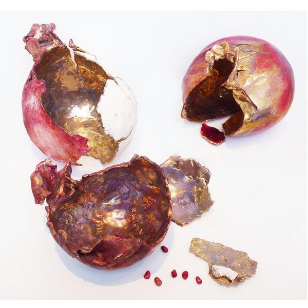 Marla Buck - 3 Pomegranate Set