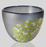 Alexi & Mariel Hunter - Lg Steel Blue/Pistachio Frit Bowl