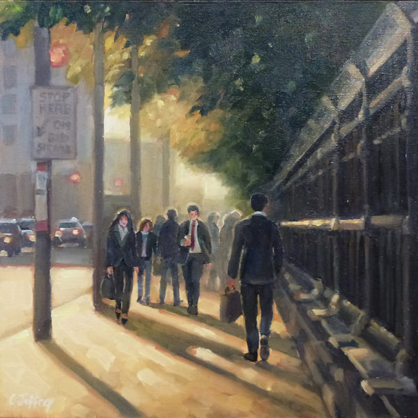 Catherine Jeffrey - Summer Days  Queen Street 12 x 12