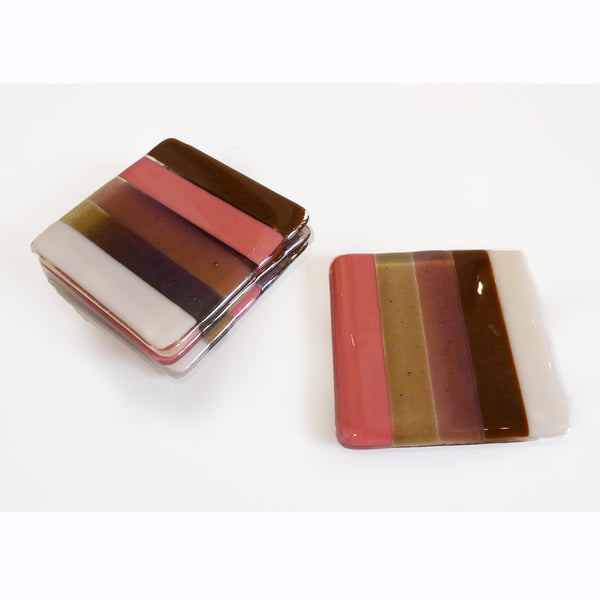 Coaster Set - Stripes
