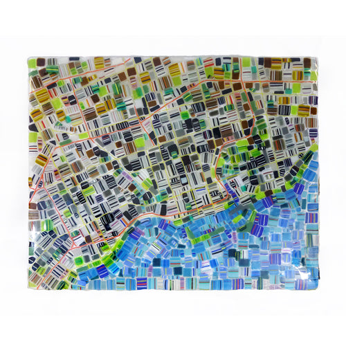 Renato Foti - Map of Toronto 30 x 24