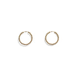 Michelle Ross-Tess gold earrings