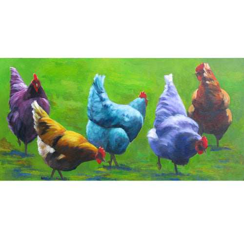 "The Chicks Love to Party 20"" x 40"""