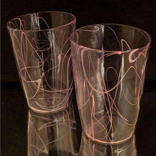Tobias Moriarty - Water Glasses Pink