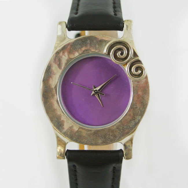 Colour Face Watch Purple