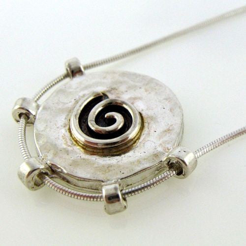 Yair Stern- Large swirl pendant Necklace