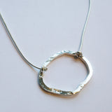 Yair Stern - Hammered Circle Necklace