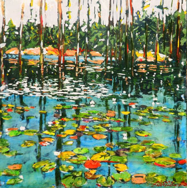 Michael Zarowsky - Georgian Bay Beaver Pond 16x16