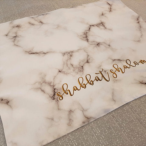 Challah cover - Marble