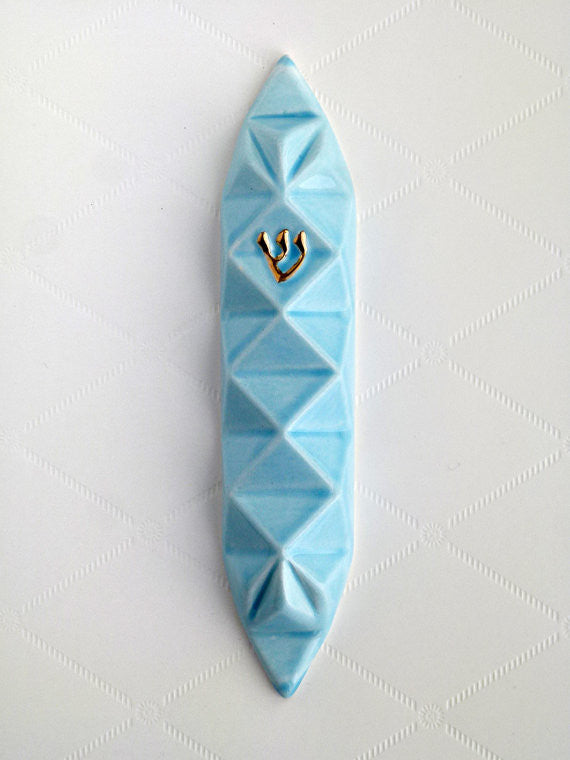 Studio Armadillo - Mezuzah Light Blue