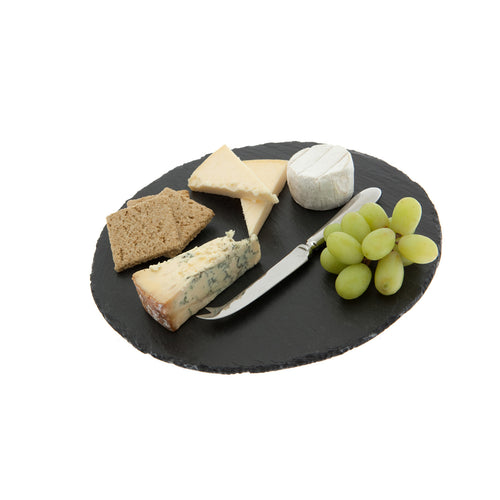Just Slate - Round Slate Cheese Board