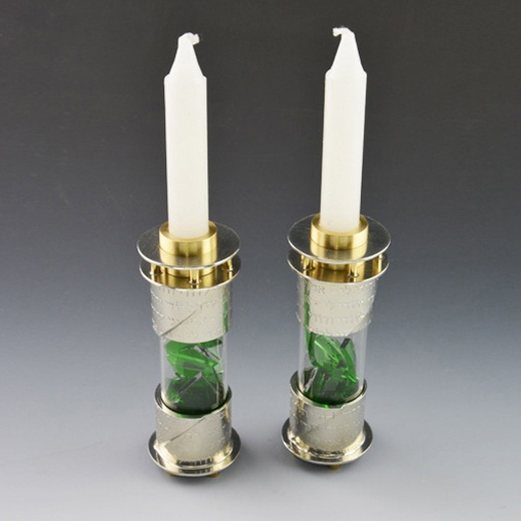 Joy Stember - Round Wedding Shard Candle Holders