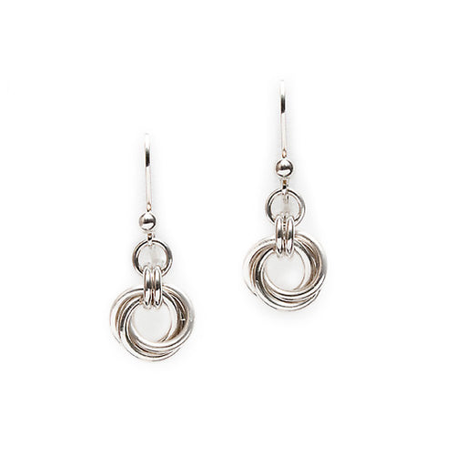 Lisa Ridout - Half Love Knot Earrings