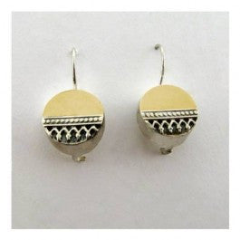 Yair Stern - Circle impression earrings