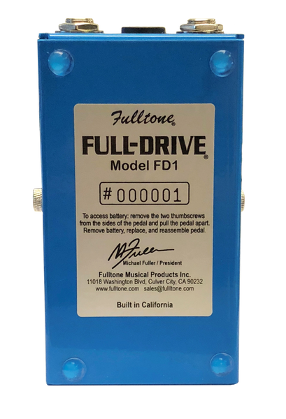 Full-Drive1  (FD1) - Cosmetic Blem