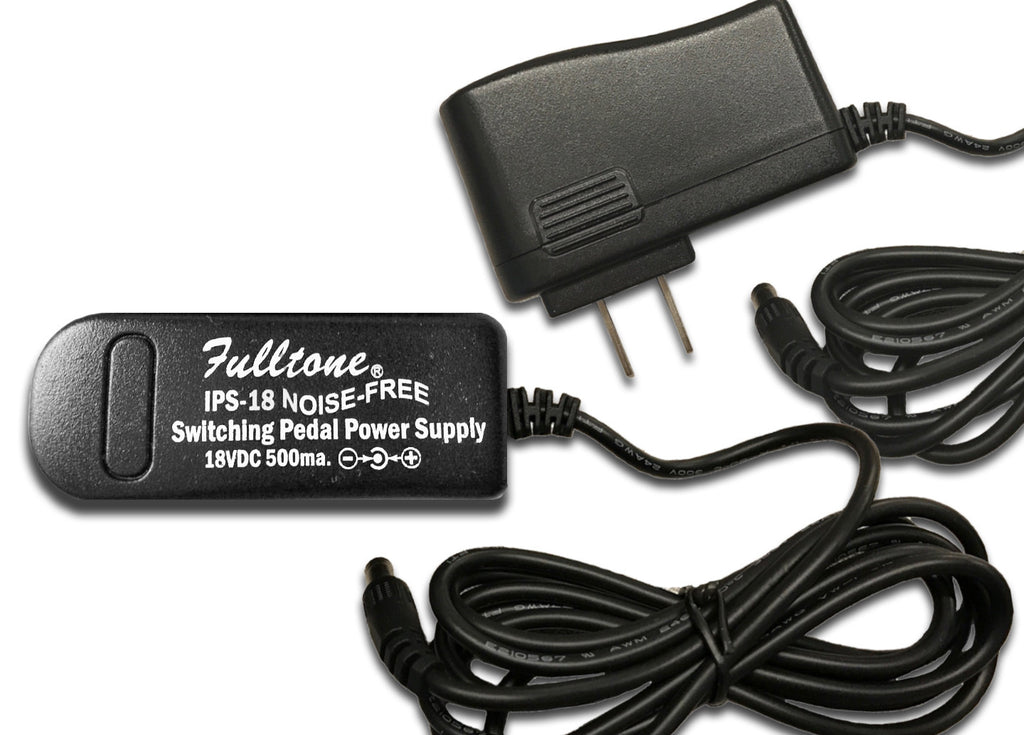 Fulltone IPS-18 Worldwide Regulated 18VDC Power Supply