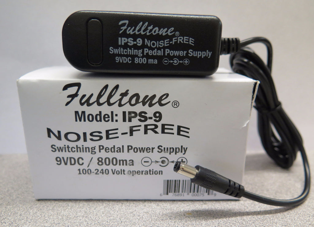 Fulltone IPS-9 Worldwide Regulated 9VDC Power Supply