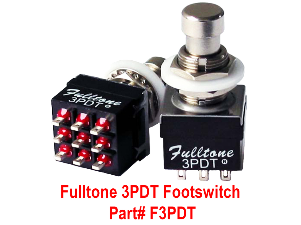 Fulltone 3PDT Footswitch (F3PDT)
