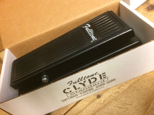 New Old Stock Clyde Standard Wah (no buffer)