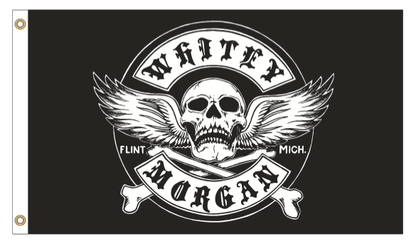 WM Winged Skull 3'x5' Flag