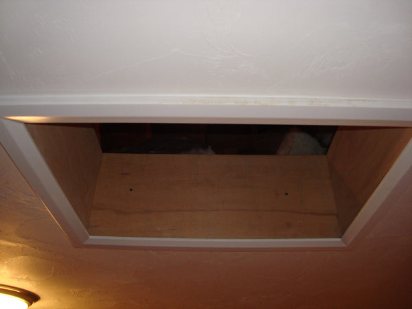 Attic Access Hatch Alternative To Pull Down Ladder