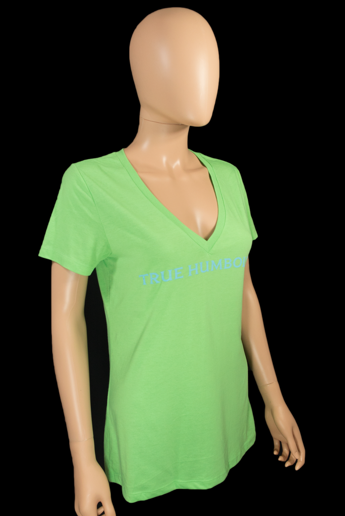 Girls V Neck Green TH