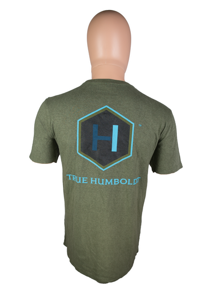 Hemp Dark Green TH T-Shirt