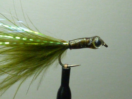 All Lead Stalking Bug  Dark Olive