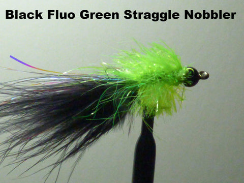 Straggle Nobbler Black/Fluo Green