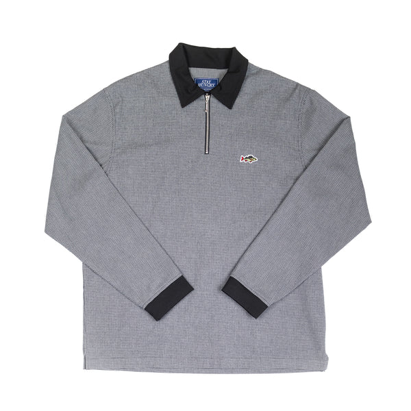 ABORRE Houndstooth Polo - little check
