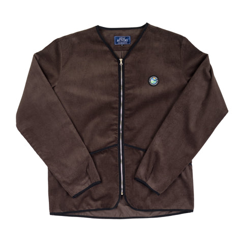 YMGU® UNDERLAYER SHIRT - brown corduroy