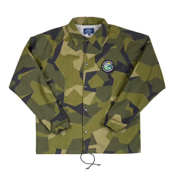 Upgraded YMGU® Green Camou Coachjacket - water-resistant m90