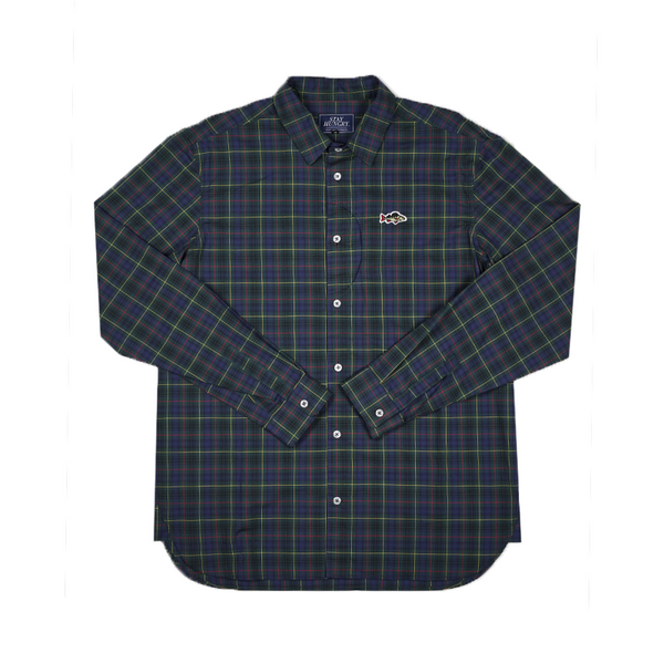 ABORRE LIGHT SHIRT - blue check