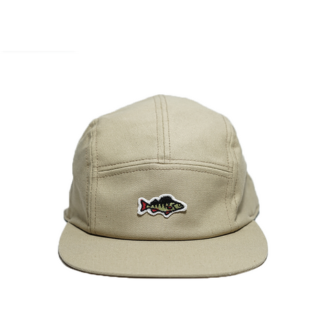 Upgraded ABORRE 5 panel cap – beige cotton