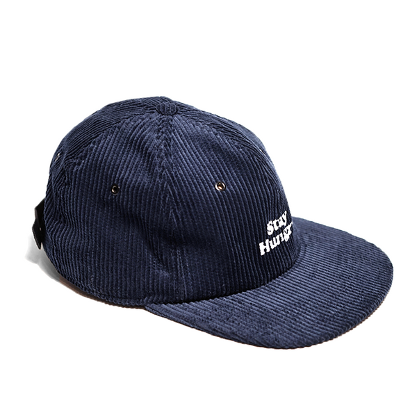BLUE SMOOTHIE 6 panel cap - navy corduroy
