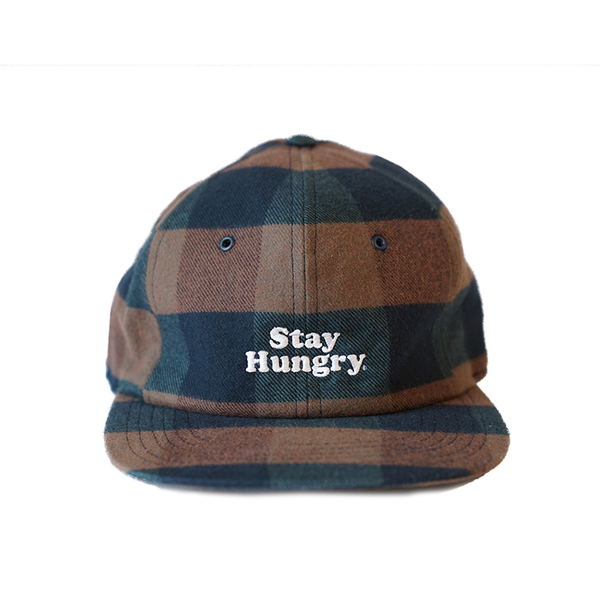 FLANNEL SMOOTHIE 6 panel cap - czech flannel